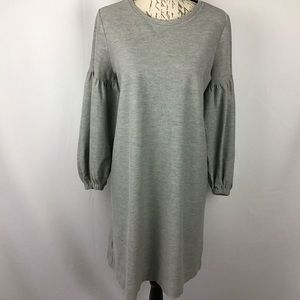 Lou & Grey balloon sleeve shift dress